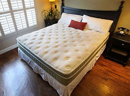 - American National Oxford Soft Side Waterbed Mattress