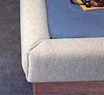 Padded Rail Caps For Waterbeds