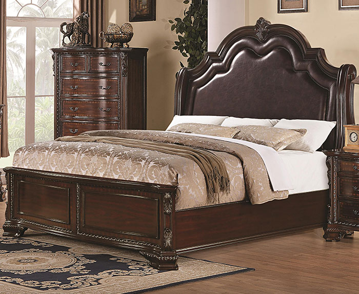 Manchester upholstered flotation waterbed bedroom furniture for Bedroom furniture in manchester