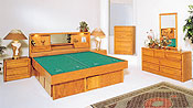 Jasmine Waterbed Furniture Group