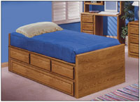 Oak Youth Trundle Beds