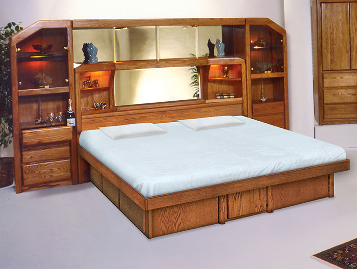 Marathon Wall Unit Softside Platform Flotation Waterbed ...