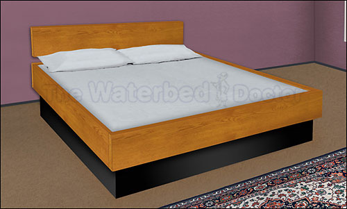 Oak Five Board Bed
