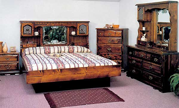 Pine Waterbed Furniture Countryside