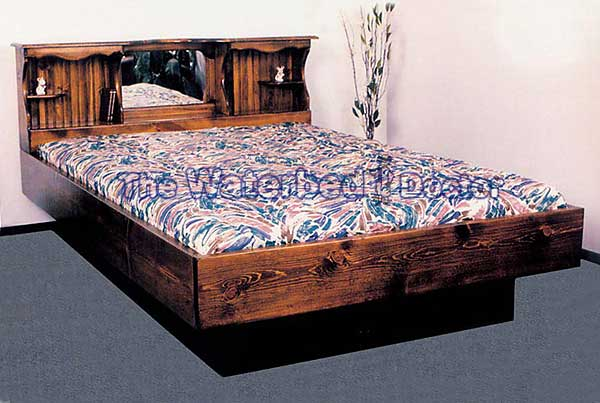 Pine Waterbed Furniture Monarch 1