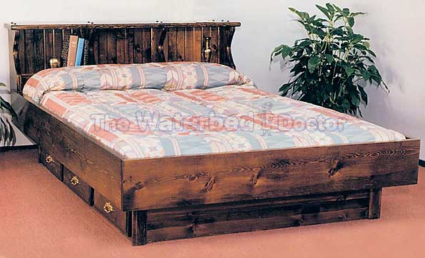 Pinewood Waterbed