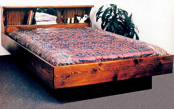 Pine Waterbed San Diego : canopy waterbed frames - memphite.com