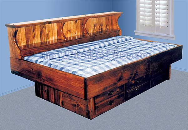 Pine Waterbed Youthbed