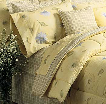 Kimlor 50 50 Poly Cotton Percale Wood Frame Waterbed